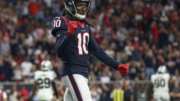 Seven From Sunday: Texans DeAndre Hopkins Continues to Rack Up Receiving Numbers Chasing History