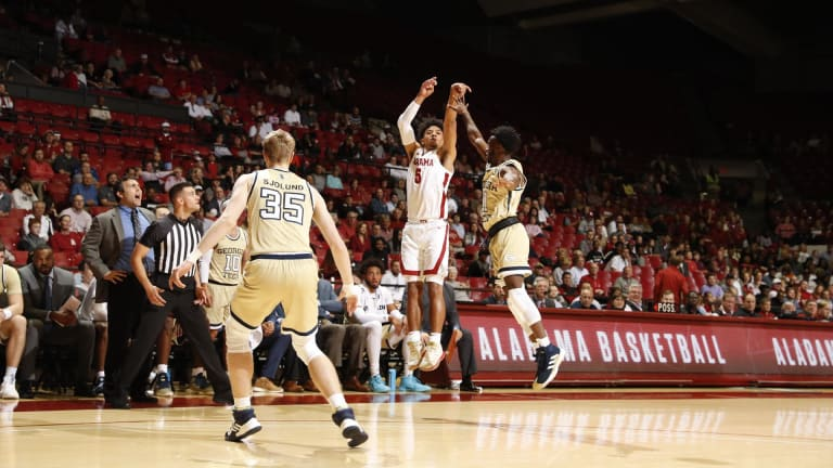 Alabama Basketball Tops Georgia Tech in Charity Game, 93-65