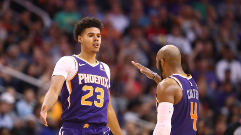 Jevon Carter Ties Career-Highs in First Start with the Suns