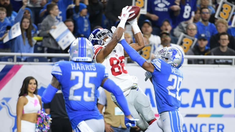 Giants Drop Fourth Straight in 31-26 Loss to the Detroit Lions