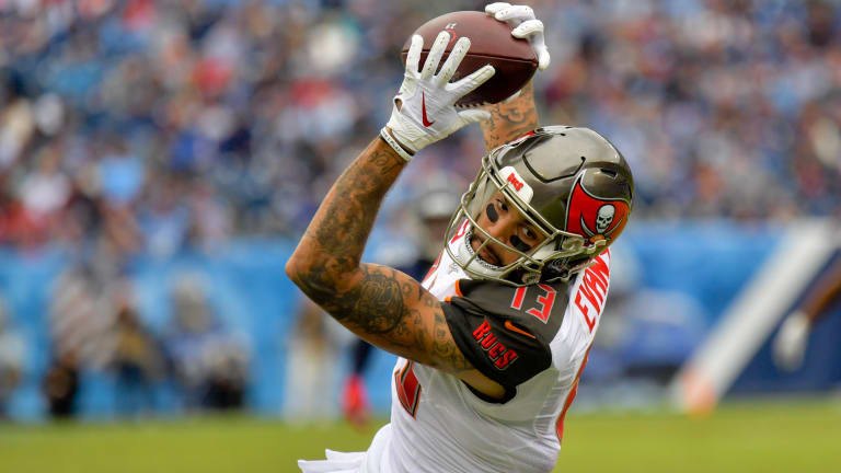 Mike Evans Makes More Bucs History with Big Day vs. Titans