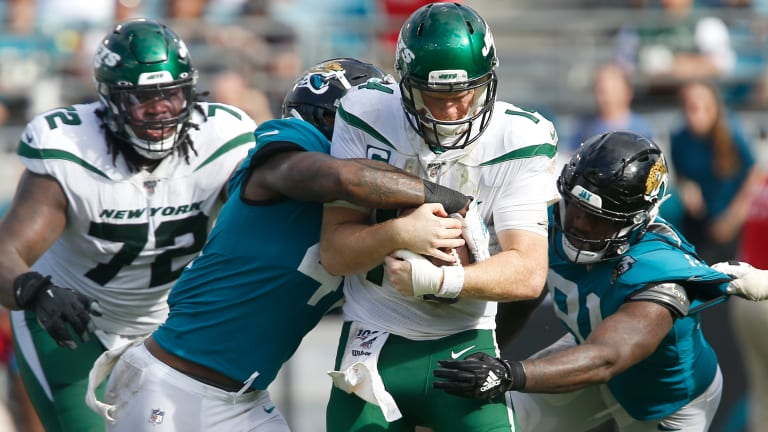 Jaguars 29, Jets 15: 5 Observations From the Haunting of the Jets
