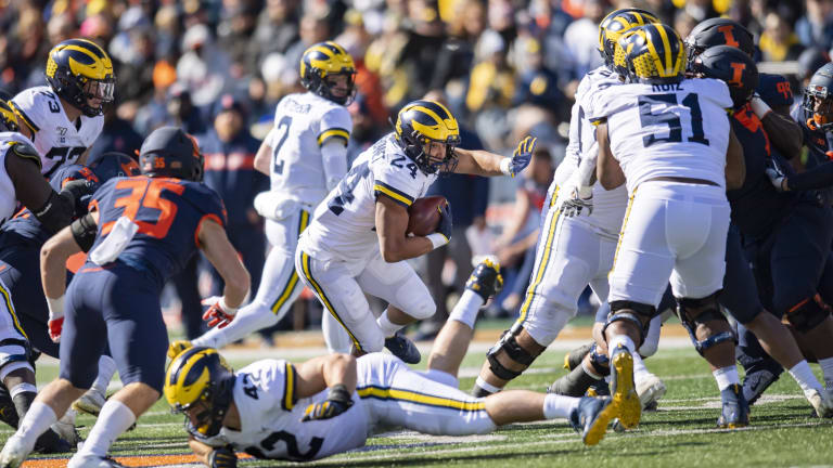 Michigan Football Ground Game Quietly Had A Great October