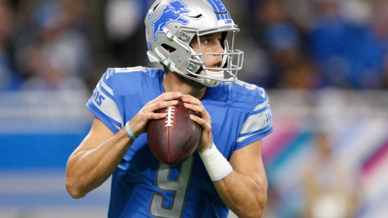 Lions QB Matthew Stafford Is Under the Weather