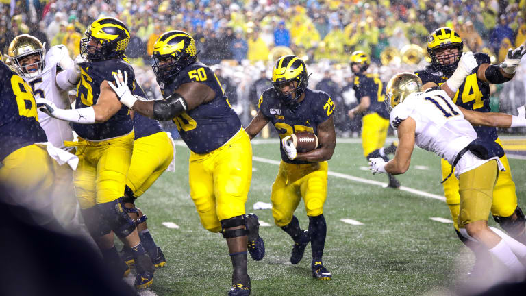 Charbonnet And Haskins Are A Formidable 1-2 For Michigan Football