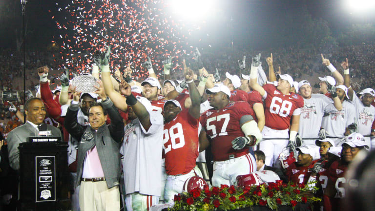 Top 10 Tide Moments of the Decade: No. 3, Undefeated Alabama Wins First National Title Under Nick Saban