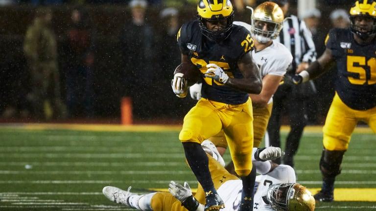 Michigan Loss Accents Run Defense Struggles For Notre Dame
