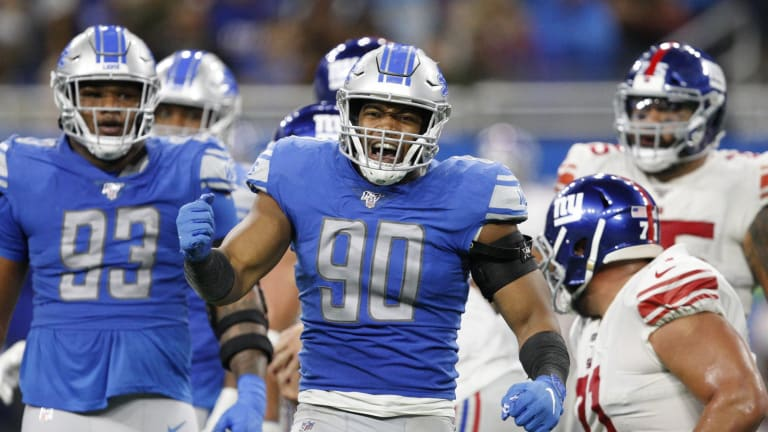 Week 8 Snap Count Observations for the Lions