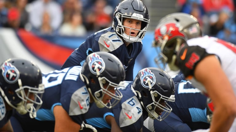 With Tannehill, Titans Offense Covers Some Ground