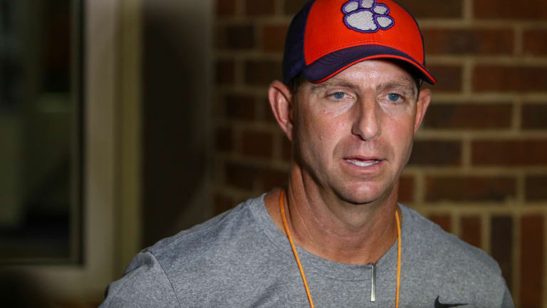 Swinney Hoping for No Boos This Week