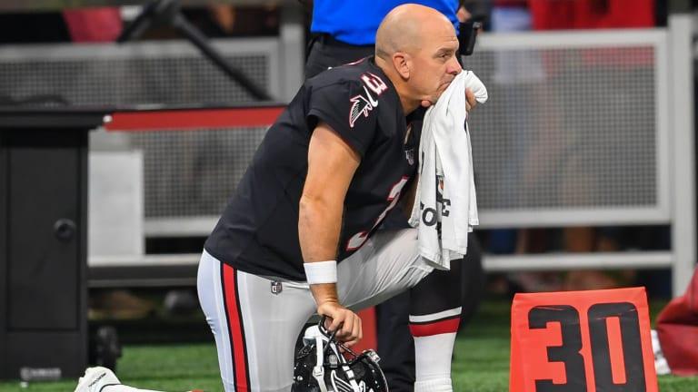 Falcons Release Kicker Matt Bryant