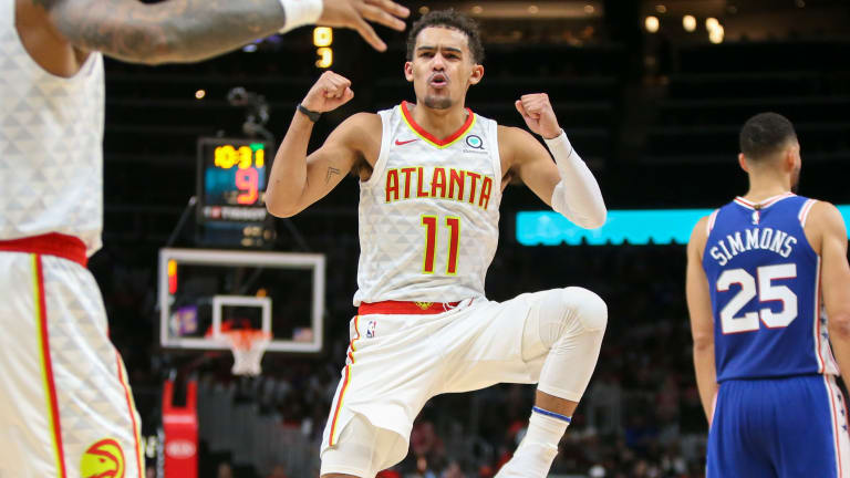 Young Hawks Earn Sixers' Attention