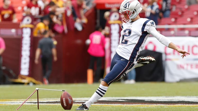Report: Patriots Are Cutting K Mike Nugent