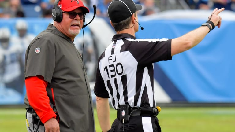 Bruce Arians Blasts Officials for Blown Call