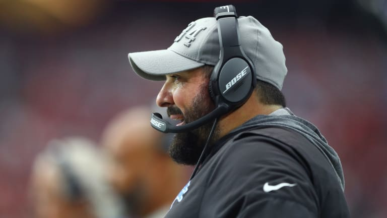 It's 'Business as Normal' for Matt Patricia and Lions