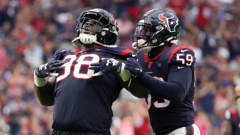 The Houston Texans Will Have to Get Creative To Generate a Pass Rush Without J.J. Watt