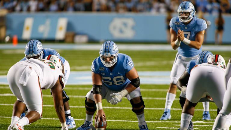 Jace Ruder Likely Out; Other Injured Tar Heels 'Have a Chance to Play' vs. Virginia