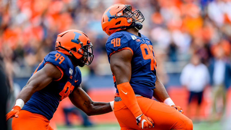 School Officials Respond to Illinois DT Lere Oladipo's Domestic Abuse Allegations