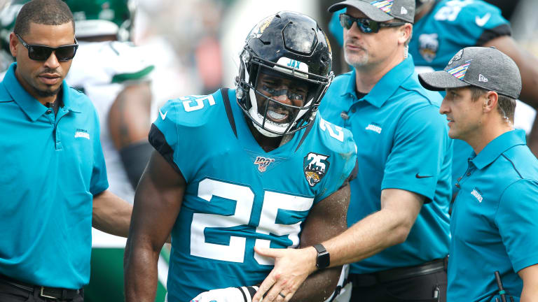Several Jaguars Nursing Injuries before London Game Vs. Texans