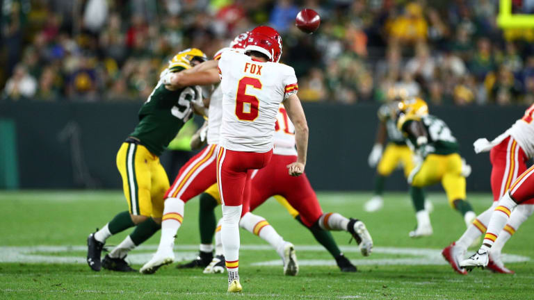 Punter Jack Fox Returns to Chiefs with Dustin Colquitt Battling Injury