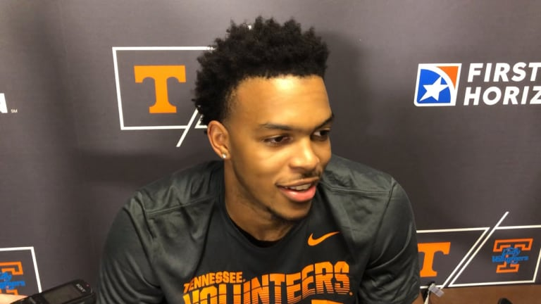 VIDEO: Tennessee players postgame vs. Eastern New Mexico