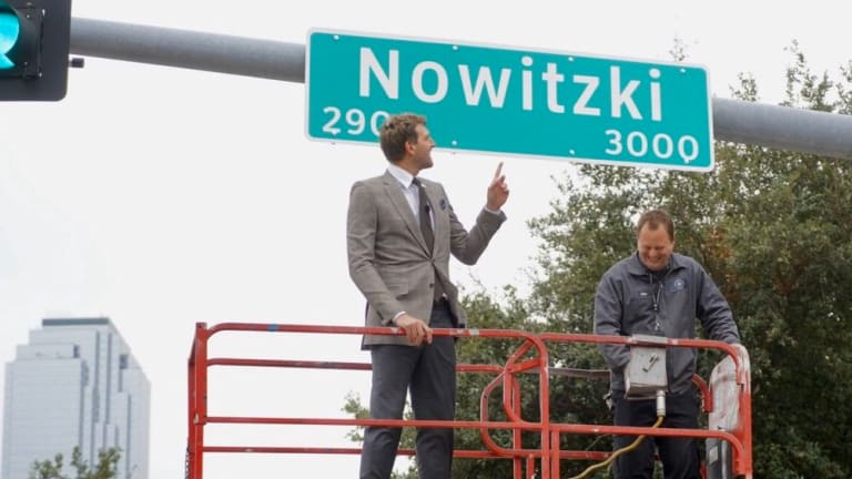 A Street Named 'Nowitzki': Mavs Dirk and Carlisle's Best Quips at Ceremony