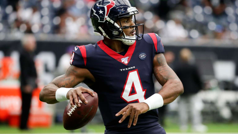 The NFL Names Houston Texans Deshaun Watson AFC's Player of the Month