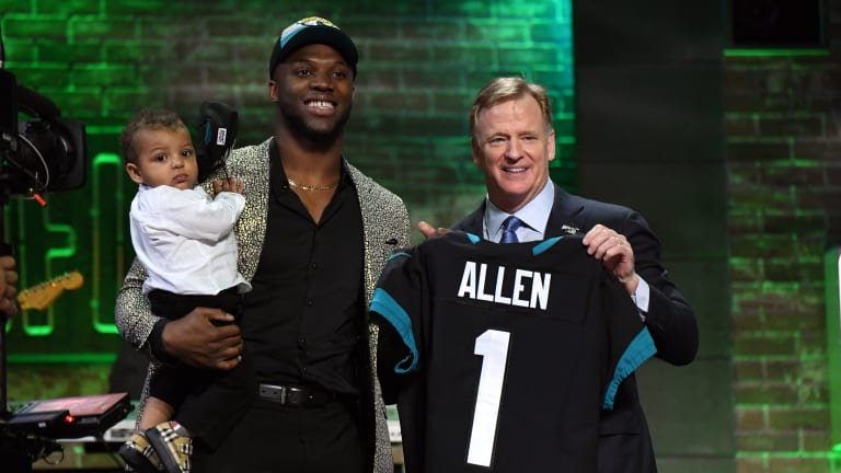 Jaguars' Rookie Draft Class Getting National Recognition
