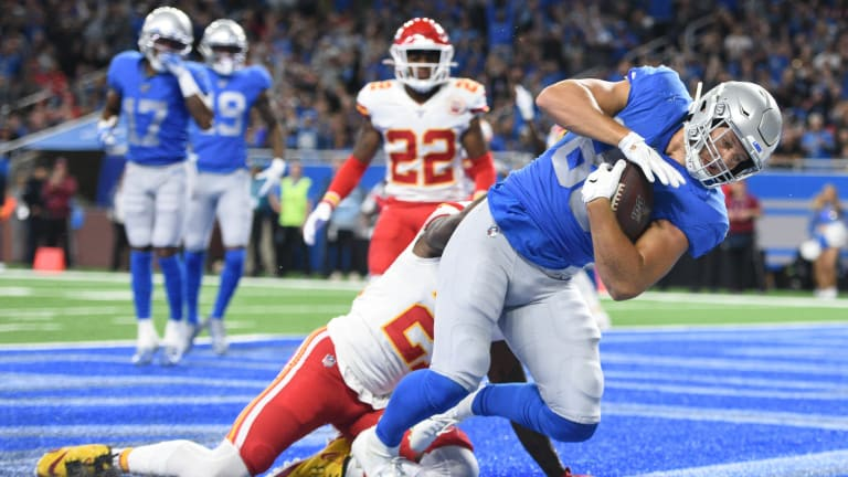 Should the Lions Move Away from Tight End-Heavy Sets?