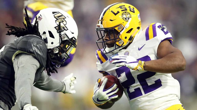 LSU Upstages UCF's National Championship Plans With Its Own Showcase Win in Fiesta Bowl
