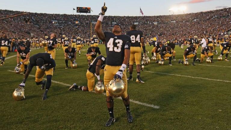 Former Notre Dame Defensive Back Josh Atkinson Dies at 25