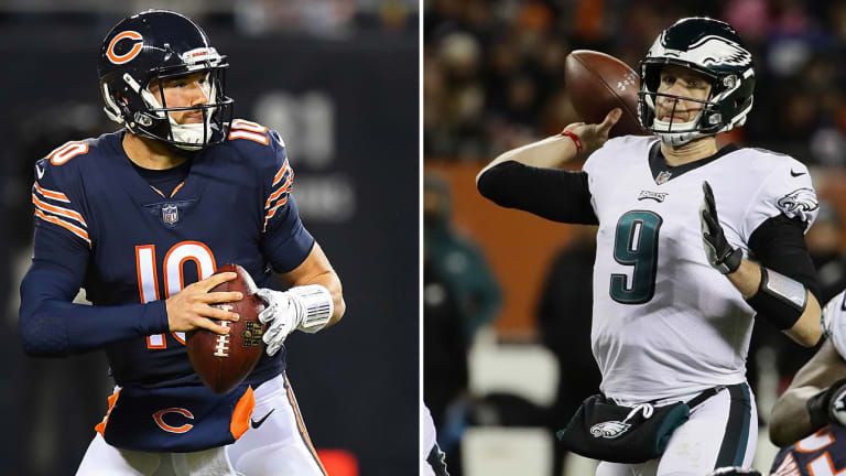 The Roller Coaster Ride of Foles vs. Trubisky