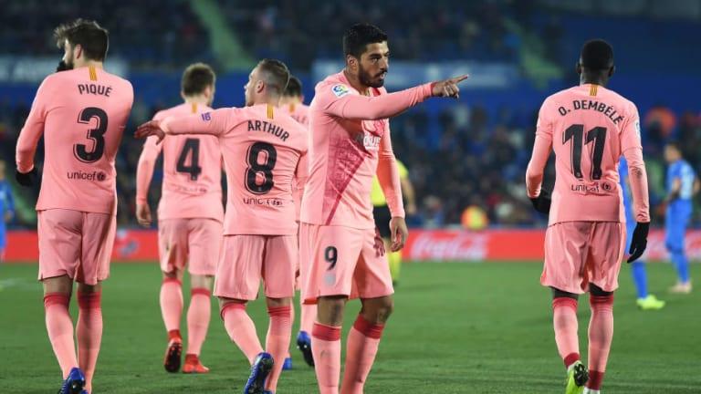 Lo bueno, lo malo y lo feo de la sufrida victoria del Barça ante el Getafe por 1-2