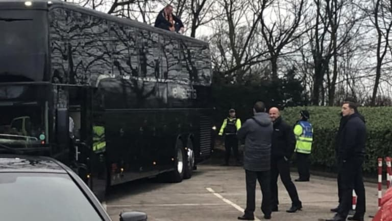 Arsenal Delayed for FA Cup Game Against Blackpool After Home Fan Climbs Bus in Protest