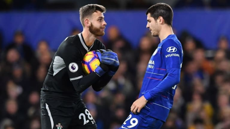Angus Gunn Set for England Call Up After Starring in Southampton's 0-0 Draw With Chelsea