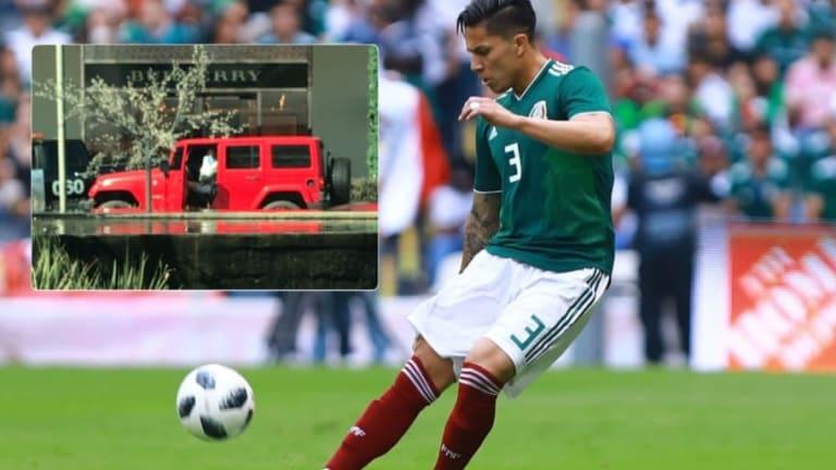 Carlos Salcedo se encuentra en Guadalajara y dispara los rumores que lo vinculan a Chivas