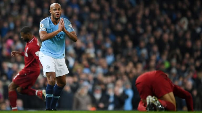 Fans Know What Vincent Kompany Called Mohamed Salah After Crunching Tackle in Man City vs Liverpool