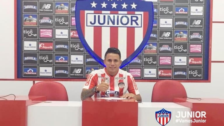 """Roger Torres, nuevo jugador de Junior: """"Es el mejor equipo de Colombia"""""""