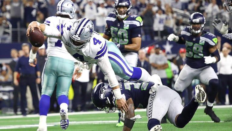 Dak Prescott, Ezekiel Elliott Finally Get Playoff Win as Cowboys Top Seahawks