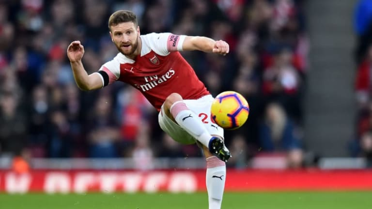 Unai Emery Eases Shkodran Mustafi Injury Worries After Early Substitution Against Fulham