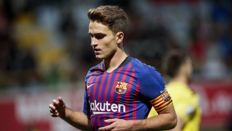 Arsenal Eye Out of Favour Barcelona Midfielder Denis Suarez Amid Aaron Ramsey Exit Rumours