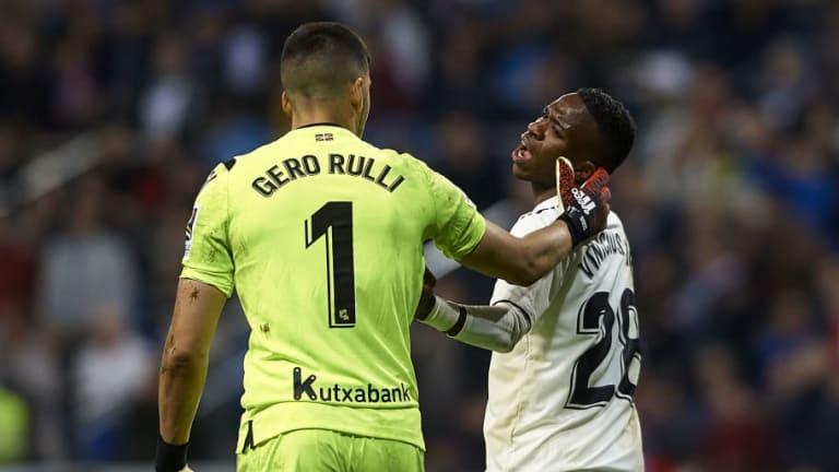 El 1x1 de la derrota del Real Madrid contra la Real Sociedad