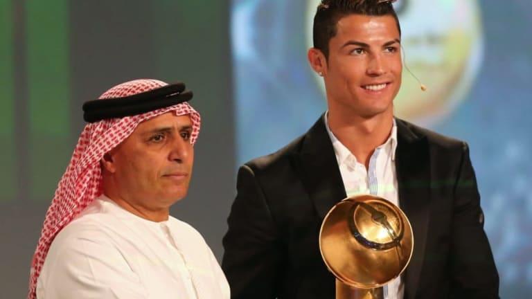 El reconocimiento a Ronaldo en el Globe Soccer Awards y el resto de premiados