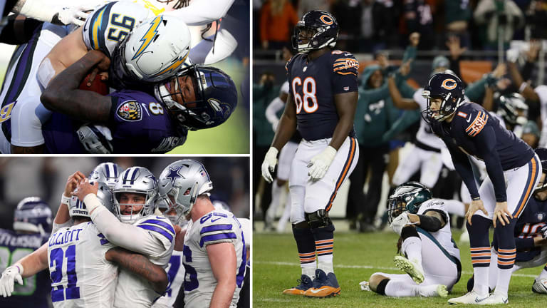 Wild-Card Playoffs Takeaways: The Cruelest End for the Bears, Ravens Offense Solved, Dak Gets It Done