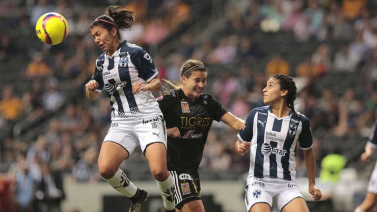 Monterrey femenil estrena un hermoso uniforme