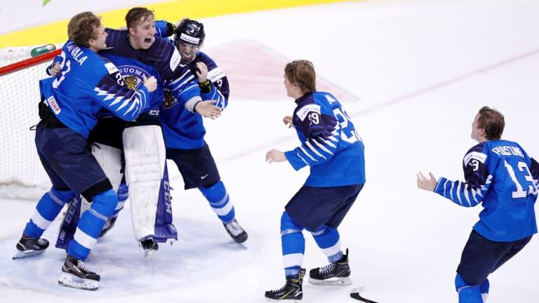Finland Wins World Junior Championship Title, Beating U.S. 3-2