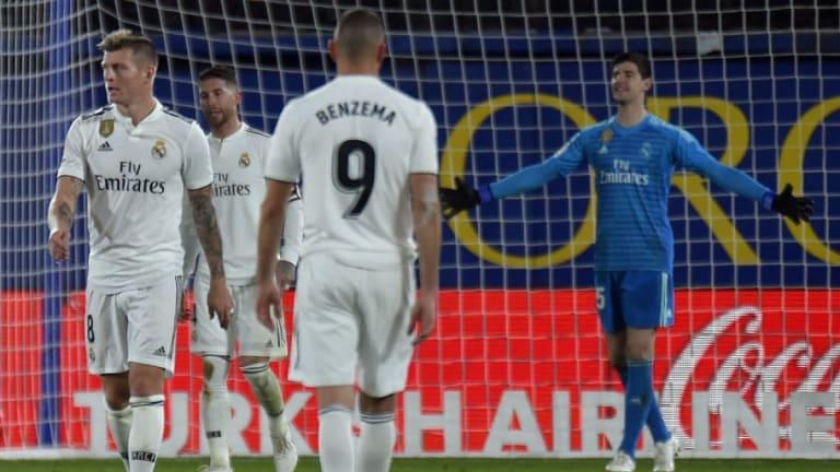 El 1x1 del Real Madrid en su empate ante el Villarreal (2-2)