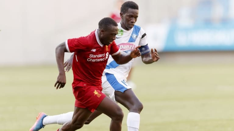 Liverpool Teenager Bobby Adekanye Makes Decision on His Future Amid Interest From Lazio