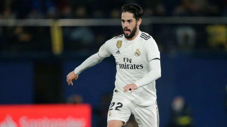 Real Madrid Boss Solari 'Very Happy' With Isco Performance in Draw Against Villarreal