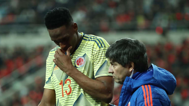 Everton Boss Marco Silva Angry After Yerry Mina Sustains 'Serious' Injury on Colombia Duty